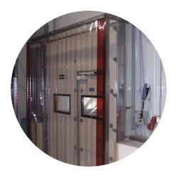 Kovové konštrukcie pre PVC závesy a plachty